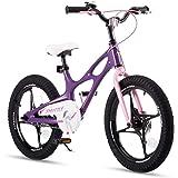 RoyalBaby Bicicleta Infantil para niños y niñas 3-9 años Bicicletas Infantiles Space Shuttle 14 16 18 Pulgadas Ruedas auxilia