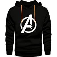 FASHION AND YOUTH Stylish Unisex Avenger Design Printed Hooded Hoodies | Pullover Sweatshirts for Men & Women