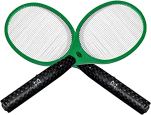 2x Globol Elektrische Fliegenklatsche - Einfach und sicher gegen fliegende Insekten