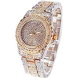 Smalody Vrouwen Horloge Shinning Rhinestone Bangle Lady Dress Horloge