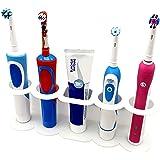 Soporte autoadhesivo apto para cepillos de dientes eléctrico - Modelo C - SmartProduct