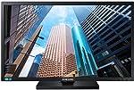 Samsung S24E450BL 59,94 cm (23,6 Zoll) Monitor (DVI, D-Sub, 5ms Reaktionszeit, 1920 x 1080 Pixel) schwarz
