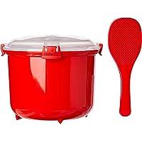 Sistema SI1110 Micro-Ondes Cuiseur à Riz Plastique Rouge 45 x 35 x 25 cm 2,6 L