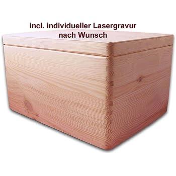 Amazon.de: MidaCreativ Aufbewahrungsbox Holzkiste m