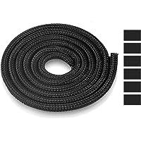 AGPTEK Kabelschlauch, selbstschließender Kabelschutz, gewebter und zuschneidbar Kabelmantel mit 6 stabile…