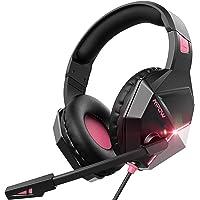 Mpow EG10 Cuffie Gaming per PS4, PC, Xbox One, Cuffie da Gaming con microfono e Bass stereo, Cuffie da gioco con…