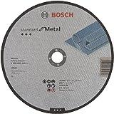 Bosch Professional 2608603168 Slijpschijf met platte naaf standaard voor metaal A 30 S BF 22,23 mm 3,0 mm 230 mm grijs