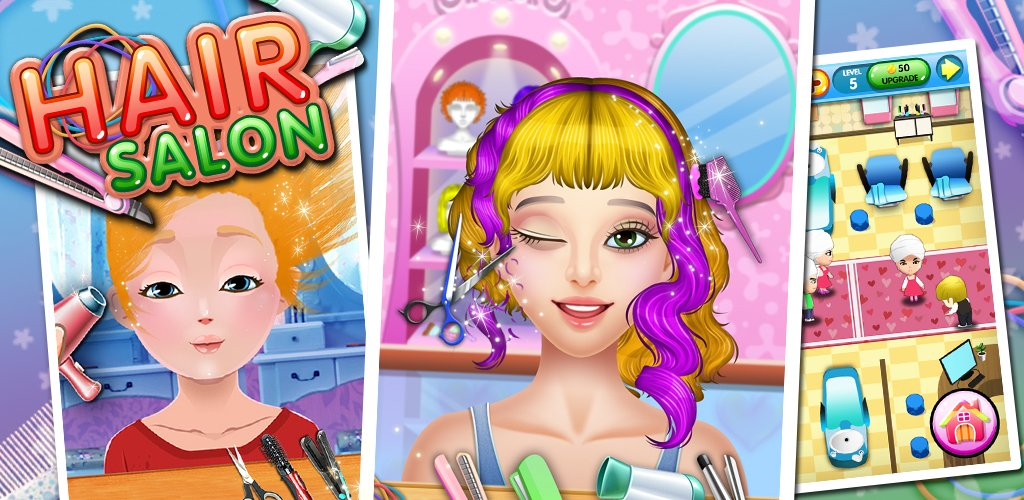 Hair salon kids games appstore for android for 6677g com fashion salon