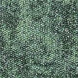 Teppichboden Auslegware Meterware Schlinge gemustert grün 200 cm, 300 cm, 400 cm und 500 cm breit, verschiedene Längen, Variante: 5,5 x 5 m