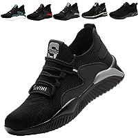 Chaussure de Securité S3 Homme Femme Legere Embout Acier Chaussures de Travail Antidérapante Respirante Coussin d'air…
