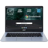 Acer Chromebook 314 CB314-1H-C2W1 Notebook, Pc Portatile con Processore Intel Celeron N4000, Ram 4GB DDR4, eMMC 64 GB…