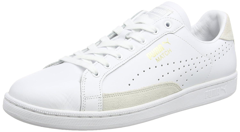 Puma Match 74 UPC Sneakers da Uomo Bianco WHT/WHT/GOLD 10WHT/WHT/GOLD 10 44