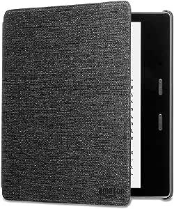Custodia in tessuto che protegge dall'acqua per Kindle Oasis, nero antracite — Solo per dispositivi di 10ª generazione (modello 2019) e 9ª generazione (modello 2017)