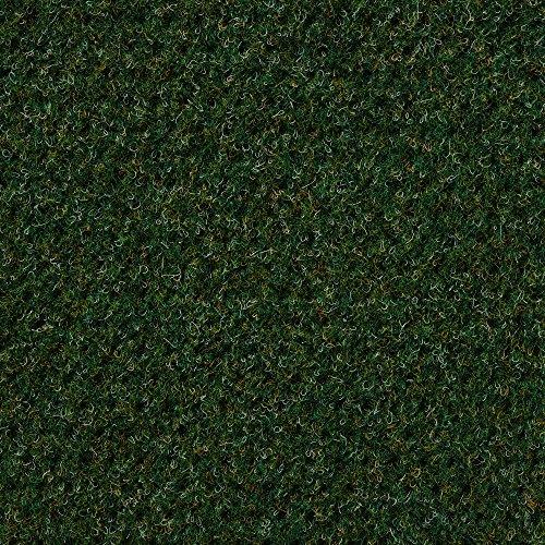 Kunstrasen Rasenteppich mit Noppen   Höhe ca. 10,3mm   133, 200 und 400 cm Breite   grün rot   Meterware, verschiedene Größen   Größe: 6,5 x 4 m