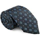 """GENTSY ® 100% Seta Cravatte da Uomo Cucita a Mano Larghezza 8cm / 3.15"""" Classico Design"""