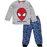 Marvel Spiderman - Conjunto de pijama de forro polar para niños
