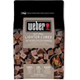 Weber Cubes Allume, Brun, 38x17x5 cm