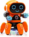 Toyshine Bot Robot Pioneer | Colorful Lights and Music | All Direction Movement | Dancing Robot Toys for Boys and Girls…