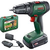 Bosch Home and Garden 06039D4070 Cordless Drill Battery, Carrying case Bosch Bohrschrauber UniversalDrill 18 (1 Akku, 18…