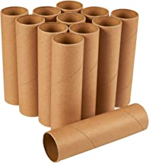 Craft Rolls - 12-Pack Cardboard Tubes for DIY Crafts, 5.9 inches