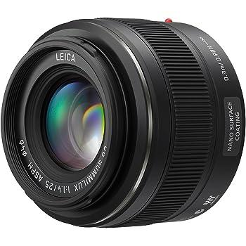Panasonic H-X025E - Lente intercambiable, color negro