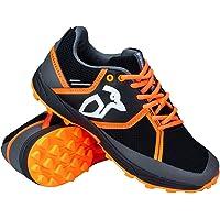 Kookaburra - Scarpe da Hockey, Unisex, per Adulti, Colore: Nero/Arancione