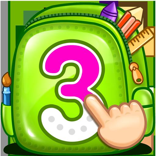123 - Zählen & Zahlen nachziehen (Bildungs-zähler)