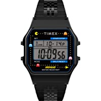 Timex T80 X Pac-Man Digital Grey Dial Unisex's Watch-TW2U32100