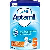 Aptamil 148194 Latte in Polvere Formulato Crescita per Neonati, Stage 5, 4 Pezzi - 3.2 kg