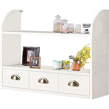 dandibo setzkasten wandregal 12020 regal 40 cm vintage shabby landhaus k chenregal wei amazon. Black Bedroom Furniture Sets. Home Design Ideas