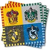 Unique Party 59101 - 5' Harry Potter Paper Napkins, Pack of 16