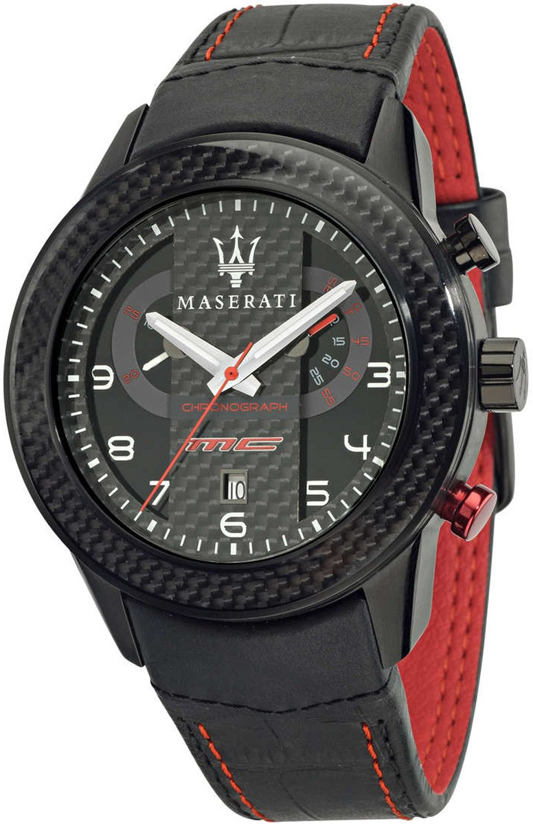 Maserati Reloj de cuarzo Man Corsa Collection R8871610004 46.0 mm