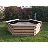 Norlogs GARDEN POOL WITH LINER 300 GALLON FISH POND TANK