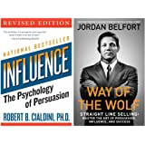 Influence: the Psychology of Persuasion + Way of the Wolf: Straight Line Selling: Master the Art of Persuasion, Influence, an