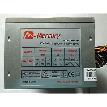 MERCURY KEZM200 SMPS Computer Power Supply