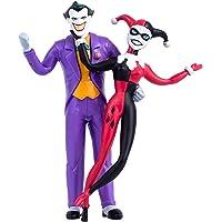 NJ Croce Btas Joker & Harley Quinn Pair 5.5 Inch Bendable Figure (Blister Carded)