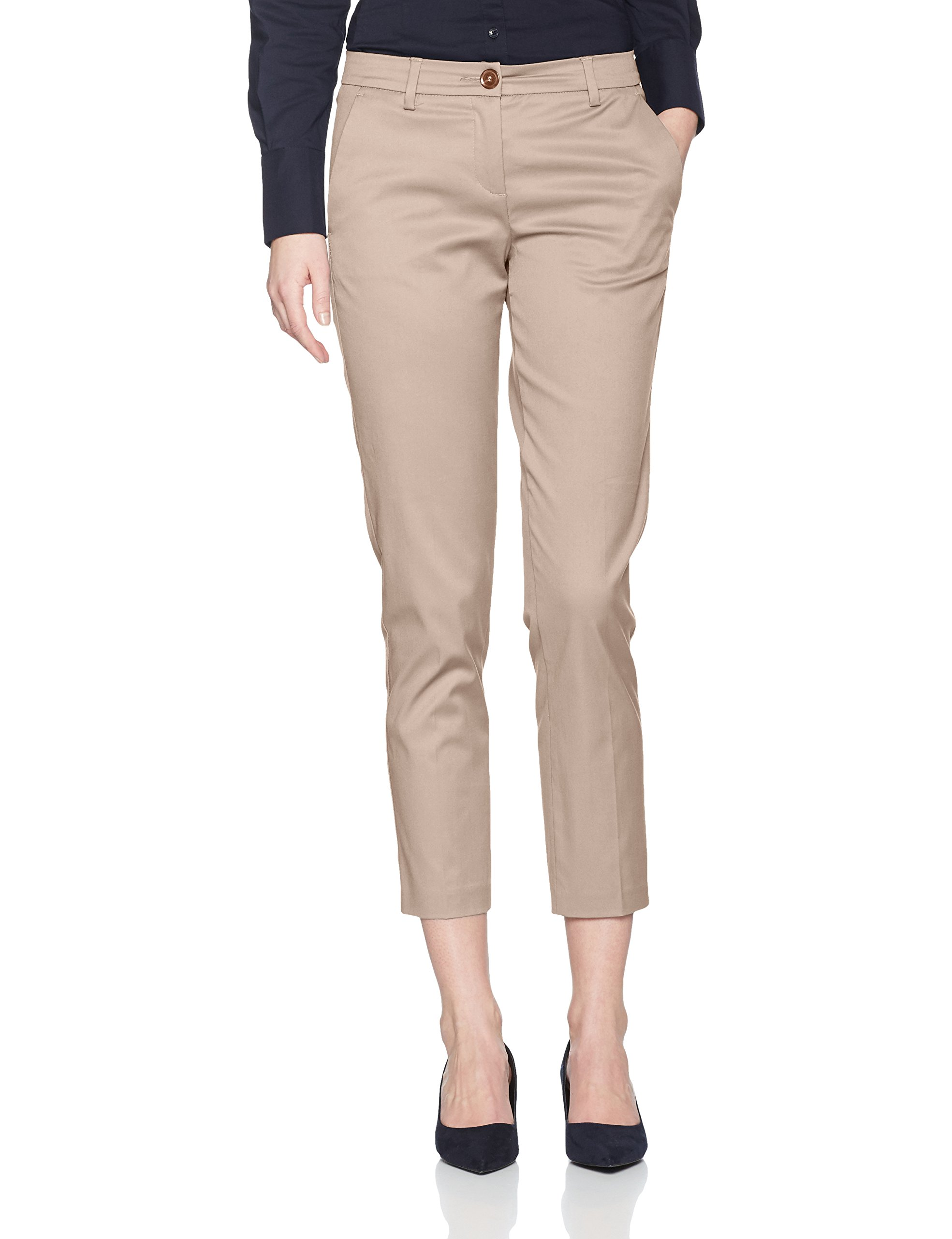 United Colors of Benetton Slim Fit Smart Trouser Pantalones para Mujer