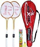 Roxon Phantom Badminton Racquet With Attractive Cover And Shuttlecock