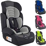 Autokindersitz Autositz Kinderautositz mit Extrapolster Kids 9-36 kg 1+2+3 ECE 4 Farben NEU + ECE R44/04 geprüft, Farben zur Auswahl 5-Punkte-Sicherheitsgurt Kopfstütze verstellbar