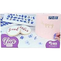 PME FF52 Fun Fonts-Alphabet Stamp Set de 52, majuscules et minuscules, collection 1