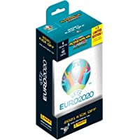 Panini France SA-UEFA Euro 2020 TCG 2021 Kick Off Boite Metal (6 Pochettes + 3 Cartes EL) Adrenalyn XL Collector…