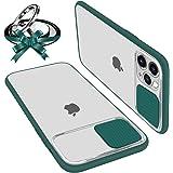 Custodie con Protezione Fotocamera Compatibile con iPhone 11 Pro Anti-Graffio Anti-Caduta Anti-Impronta Hard PC Bordo Ultra S