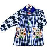 KLOTTZ - Babi colegio con bolsillos tela Venagdores. Bata escolar Niñas