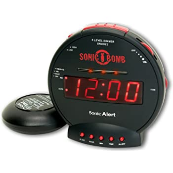 Geemarc, Sonic Bomb, Sveglia con vibrazione, max. 113 dB