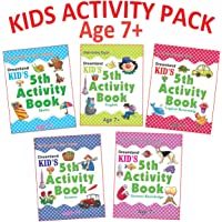 Kid's Activity Age 7+ - Pack (5 Titles-  English, Maths, Logical Reasoning, Science, General Knowledge)