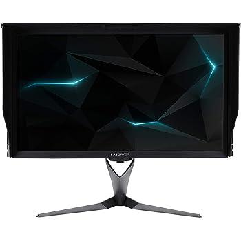 """Acer Predator X27 LED Display 68,6 cm (27"""") 4K Ultra HD Noir - Écrans Plats de PC (68,6 cm (27""""), 3840 x 2160 Pixels, 4K Ultra HD, LED, 4 ms, Noir)"""