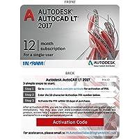 AutoCAD LT 2017 - 1 User, 1 Year (Voucher)