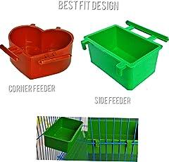 Praish Bird cage Drinker (1 Free Drinker)