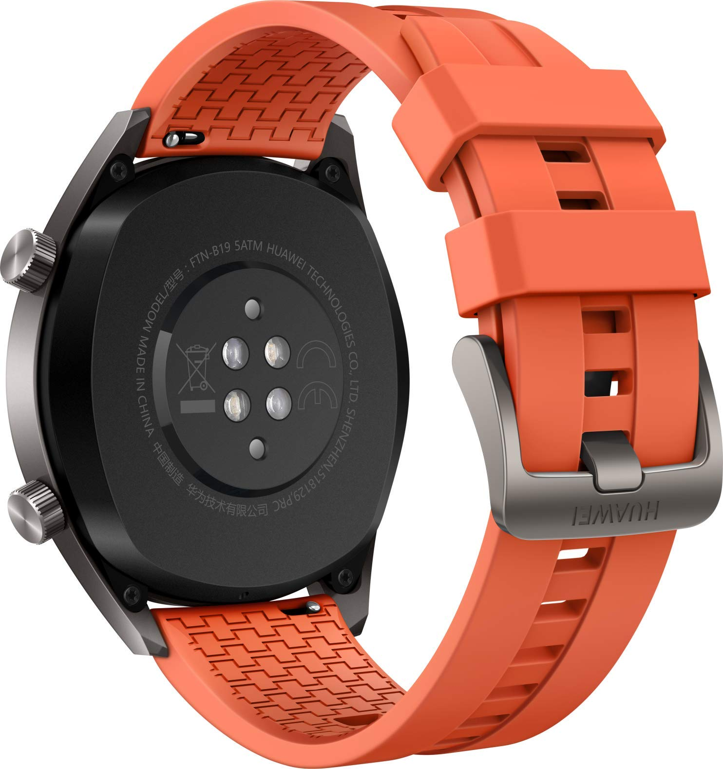 Huawei Watch GT Active - Reloj Inteligente, Naranja, 46 mm, Reloj 2