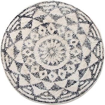 meusch 2253148521 badteppich mandala 100 cm rund multicolor k che haushalt. Black Bedroom Furniture Sets. Home Design Ideas